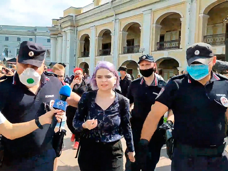 Санкт-Петербург, 18 июля 2020 года