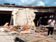 ЧП произошло на улице Свердлова в доме 1А. Площадь обрушения - 250 квадратных метров