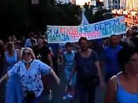 Хабаровск встретил Михаила Дегтярева новыми акциями протеста (ФОТО, ВИДЕО)