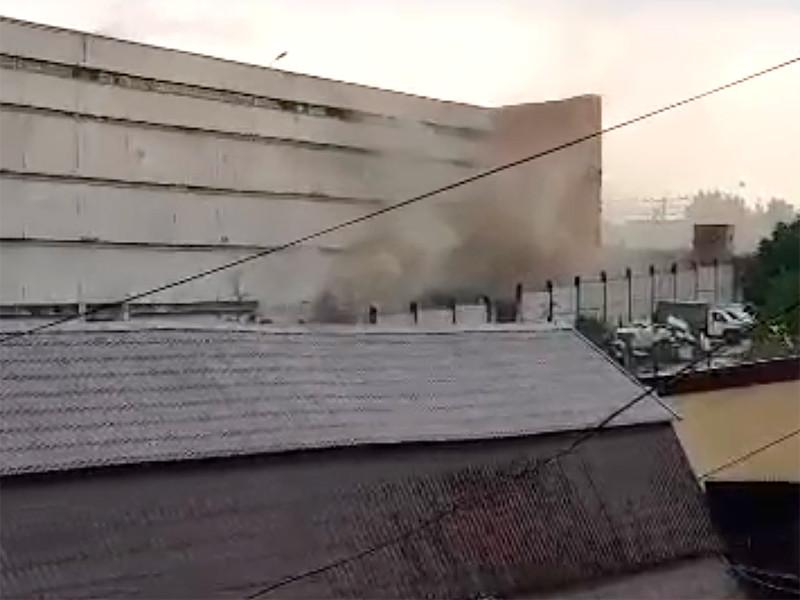 Пожар в СИЗО-6