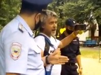В Хабаровске задержали блогера Романова, освещавшего акции протеста (ВИДЕО)