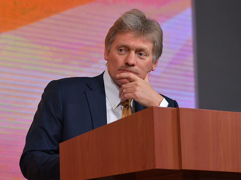 """В Кремле """"не замечают и не видят"""" тренда на преследование в России журналистов, заявил пресс-секретарь президента РФ Дмитрий Песков"""