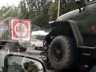 """Водители автомобилей """"Нива"""" и Hino погибли в ДТП с участием грузовиков военной колонны на трассе М-8 """"Холмогоры"""" в Ярославской области"""