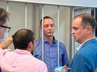 Избрание меры пресечения в Лефортовском суде Москвы советнику главы «Роскосмоса» Ивану Сафронову по делу о госизмене, 7 июля 2020 года