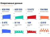 В России отмечено максимальное число умерших с COVID-19 за сутки с середины июля