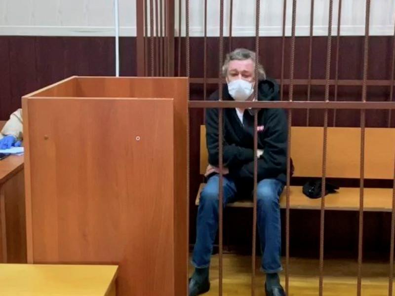 Актер Михаил Ефремов, которому ранее было предъявлено обвинение по делу о ДТП со смертельным исходом в центре Москвы, отказался от признания вины