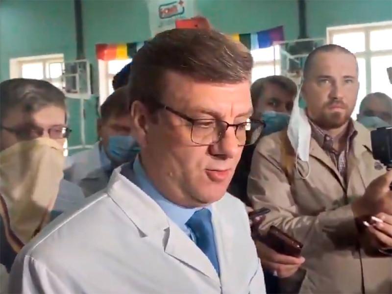 """""""В настоящее время он продолжает лечиться в БСМП N1 до стойкой стабилизации его состояния"""", - сказал главврач больницы Александр Мураховский. Мураховский"""
