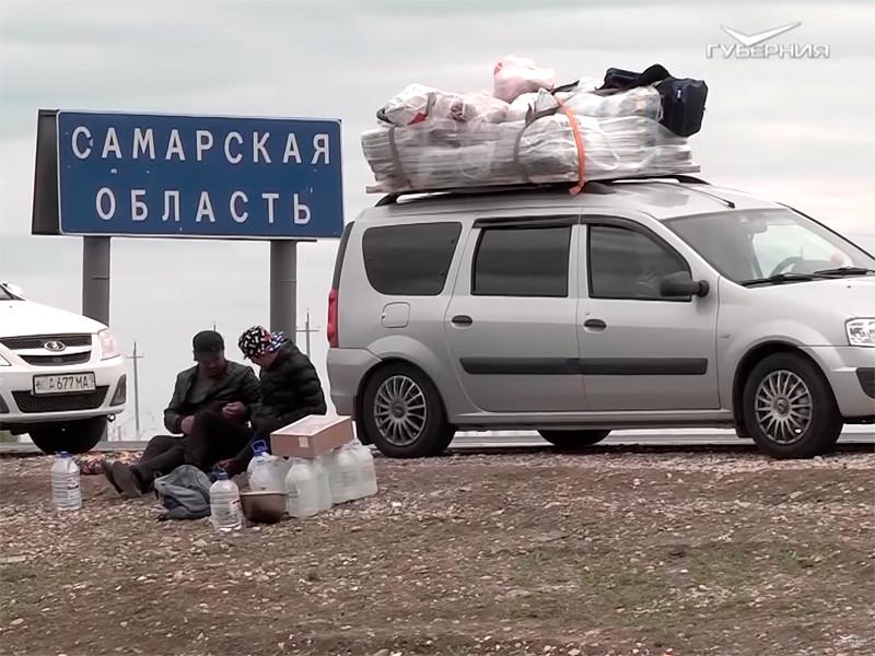 Большечерниговский район Самарской области, май 2020 года