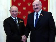 """Путин поздравил Лукашенко с победой на выборах: """"Это отвечает интересам братских народов"""""""