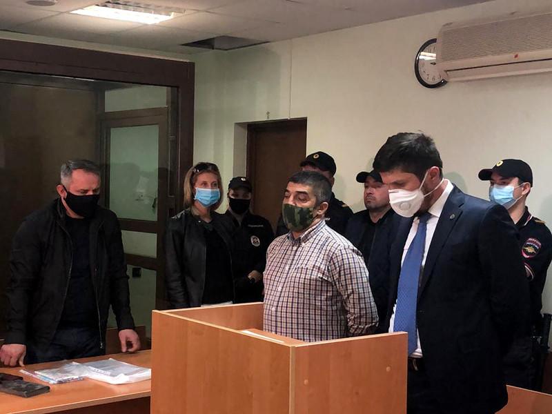 Рашад Исмаилов в Преображенском районном суде, 14 августа 2020 года