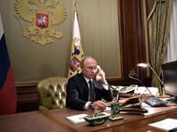 Путин в разговоре с Меркель назвал недопустимым любое вмешательство извне в дела Белоруссии