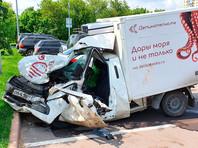 Машина погибшего в ДТП Сергея Захарова