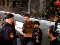 Несколько сторонников Навального задержаны в центре Москвы