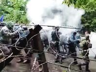 На горе Куштау в Башкирии произошли новые столкновения активистов с силовиками