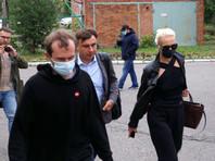 Жену Алексея Навального пустили в палату к мужу