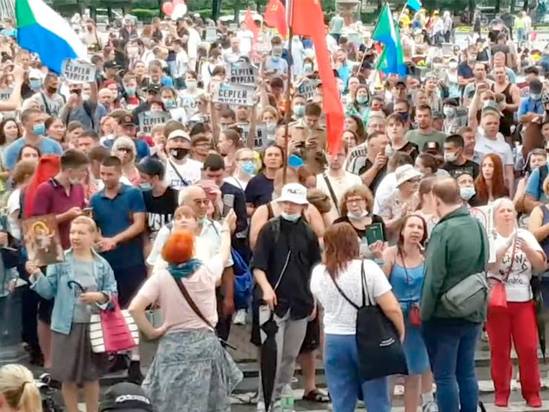 Хабаровск, 1 августа 2020 года