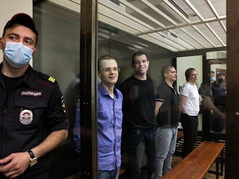 Вячеслав Крюков, Руслан Костыленков, Петр Карамзин и Дмитрий Полетаев (слева направо)санд