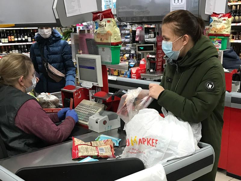 В Москве за несоблюдение масочного режима закрыли десятки продуктовых магазинов
