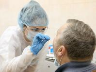 Коронавирус в  России за сутки выявлен еще у 5 449 человек