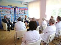 Татьяна Голикова и Василий Голубев встретились с руководителями лечебных учреждений Дона, представителями общественных организаций, участниками государственно-частного партнерства в сфере здравоохранения