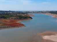 Симферопольское водохранилище, сентябрь 2020 года