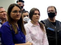 Анна Павликова получила 4 года условно. Мария Дубовик - 6 лет условно