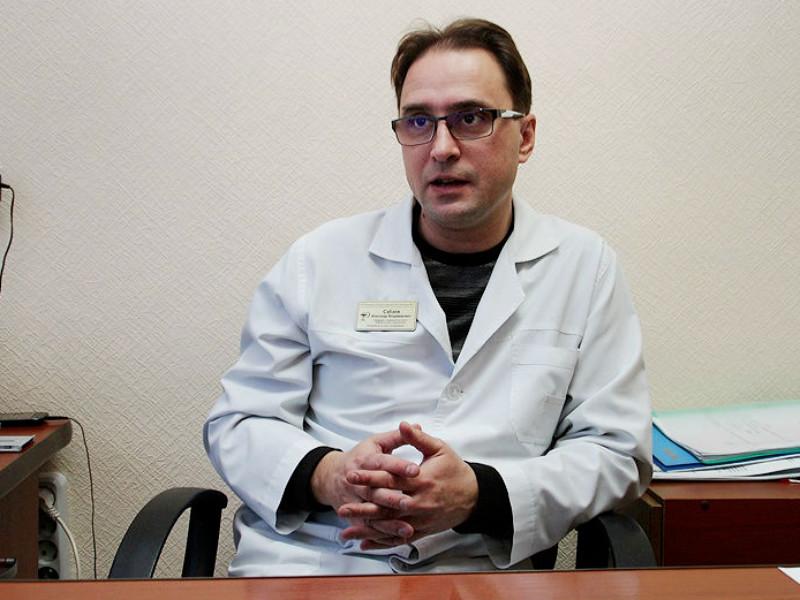 Главный токсиколог больницы в Омске Александр Сабаев