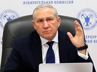 Центризбирком РФ признал неудовлетворительной работу Санкт-Петербургской избирательной комиссии и выразил недоверие ее главе Виктору Миненко