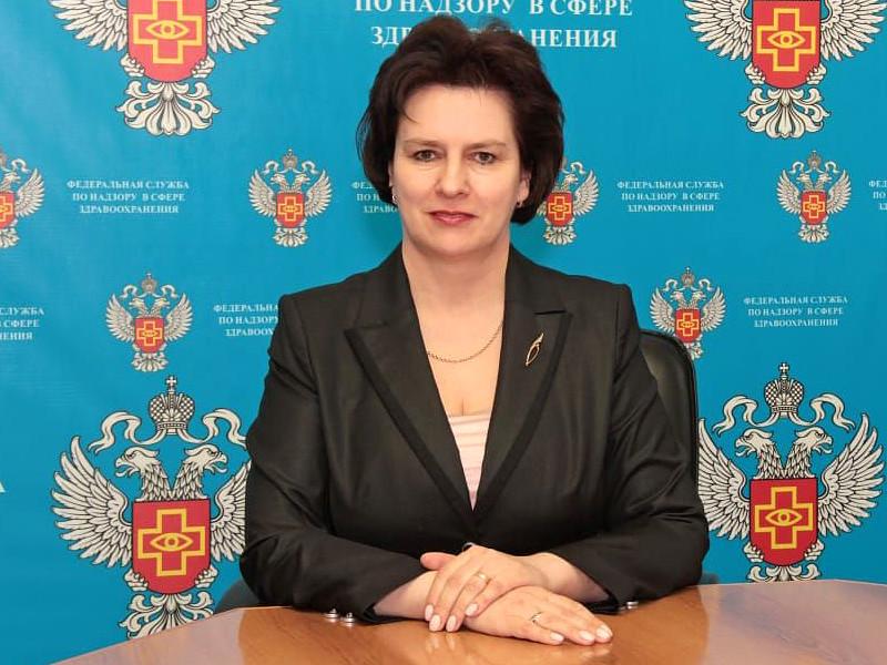 Глава Росздравнадзора Алла Самойлова
