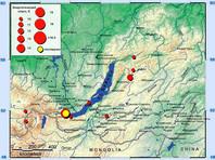 Сильное землетрясение произошло в Иркутске в ночь на 22 сентября