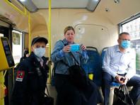 Рейд по проверке соблюдения масочного режима пассажирами наземного транспорта