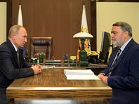 Владимир Путин и Игорь Артемьев