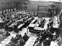 Нюрнбургский процесс, зал заседаний, 30 сентября 1945 года