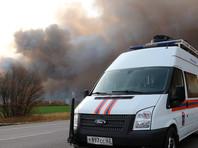 Шесть человек пострадали от взрывов боеприпасов на складе в Рязанской области