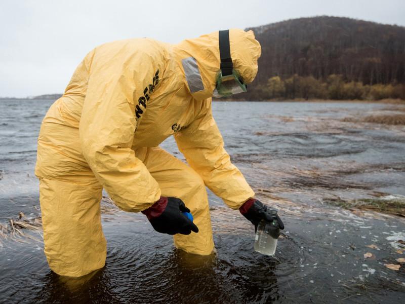 Greenpeace рассказал о результатах исследования проб воды с Камчатки