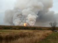 На военном складе в Рязанской области произошел пожар и начались взрывы снарядов (ВИДЕО)