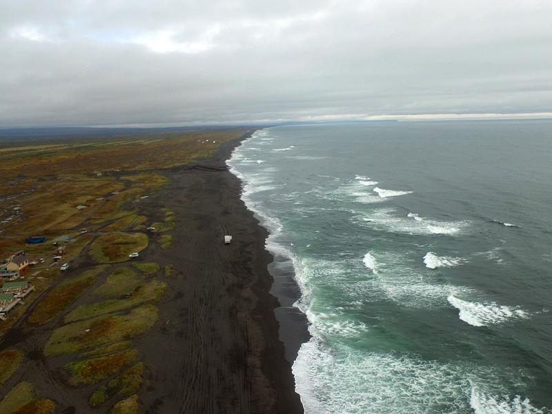 Мониторинге обстановки на побережьях Камчатки, 5 октября 2020 года