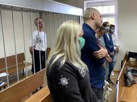 Оглашение в Лефортовском районном суде Москвы постановления о продлении ареста советнику главы «Роскосмоса» Ивану Сафронову по делу о госизмене, 2 сентября 2020 года