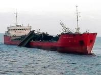 Взорвавшийся в Азовском море танкер отбуксировали на якорную стоянку