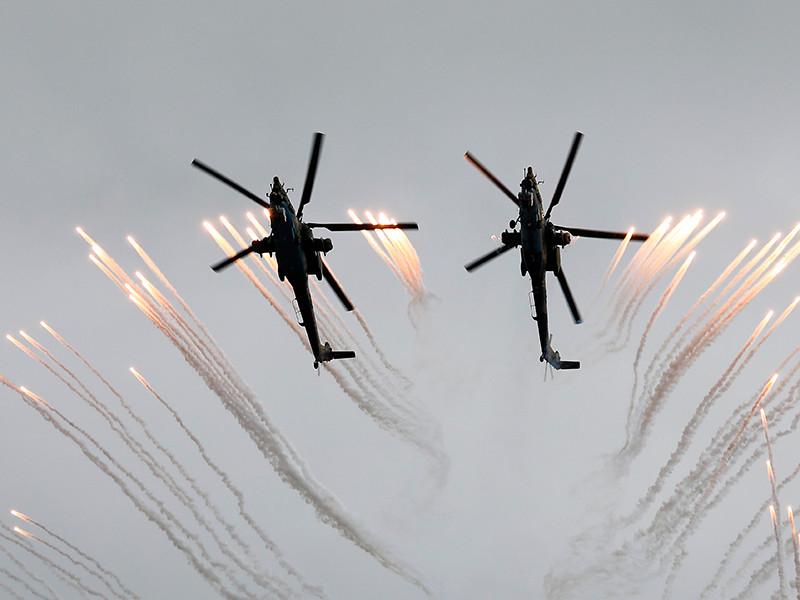 """Военные рассказали о новом оснащении российских боевых вертолетов, которые смогут """"стрелять"""" дронами-камикадзе"""
