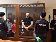 Оглашение приговора по итогам пересмотра уголовного дела лидера националистического движения «Реструкт» Максима Марцинкевича, известного по прозвищу Тесак в Бабушкинском районном суде, декабрь 2018 года