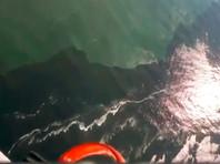 """Журналист Юрий Дудь, в свою очередь, опубликовал в Instagram видео жителя Камчатки и основателя школы серфинга Snowave Surf School Антона Морозова, на котором видно пятно в Тихом океане и """"кладбище"""" морских животных на берегу"""