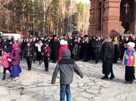 Воскресный крестный ход вокруг Среднеуральского женского монастыря, 18 октября 2020 года