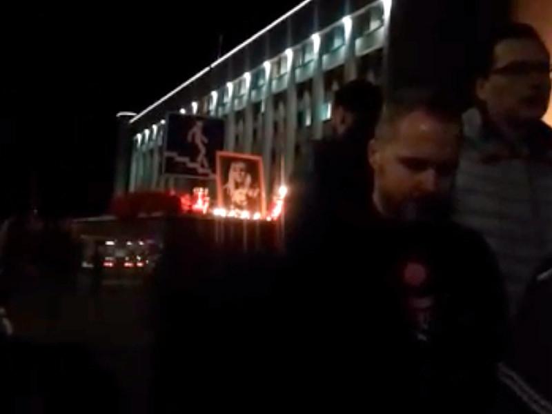 Место гибели главного редактора местного интернет-издания KozaPress Ирины Славиной