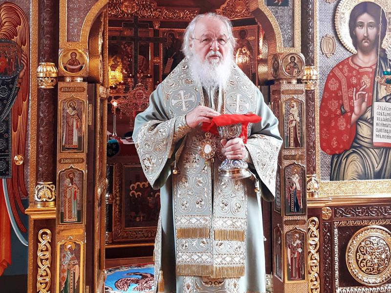 """Патриарх Кирилл назвал пандемию коронавируса """"последним звонком"""" для всего человечества"""