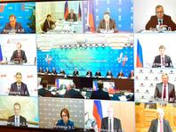 В режиме видеоконференции состоялась встреча Владимира Путина с членами правления РСПП