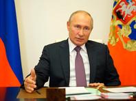 Президент России Владимир Путин призвал прекратить боевые действия в Нагорном Карабахе по гуманитарным соображениям, сообщает сайт Кремля