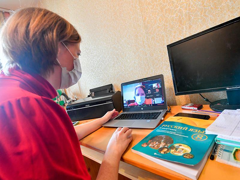 С 19 октября, после окончания каникул, школьников в Москве могут отправить на дистанционное обучение