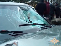 Восемь человек пострадали, одной женщине стало плохо с сердцем