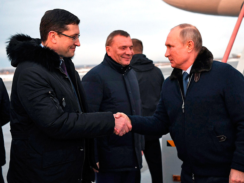 """Кремль объяснил отсутствие масок на участниках встречи с Владимиром Путиным в Сарове достаточностью принятых """"эпидемиологических мер"""""""